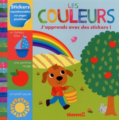Les couleurs J'apprends avec des stickers !