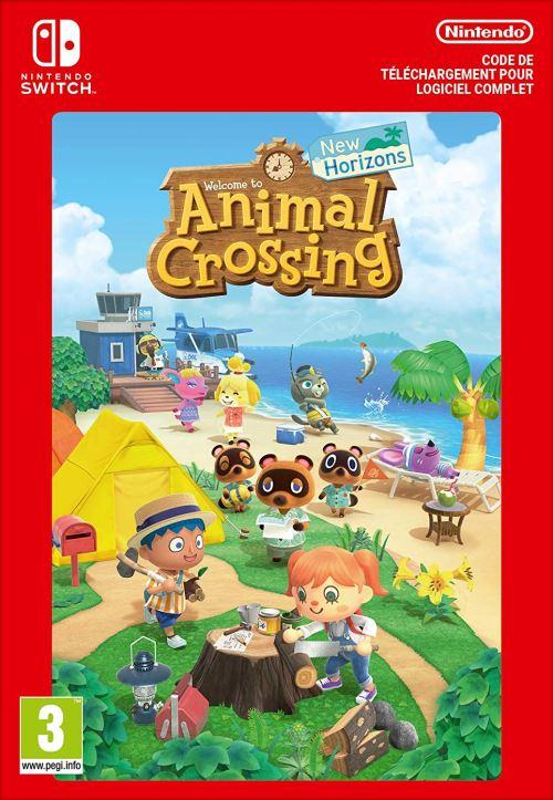Code de téléchargement Animal Crossing New Horizons Nintendo Switch