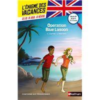 L'énigme des vacances de la 5ème à la 4ème Opération Blue Lagon