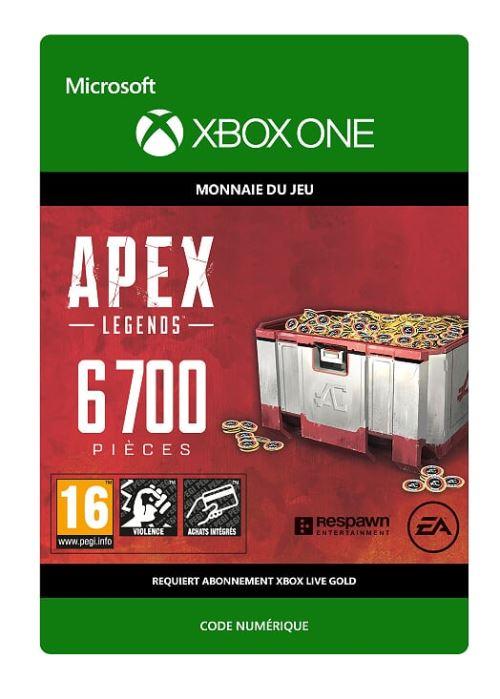 Code de téléchargement APEX Legends: 6700 Coins Xbox One