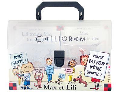 Max et Lili - Valisette : Même pas peur d'être gentil !