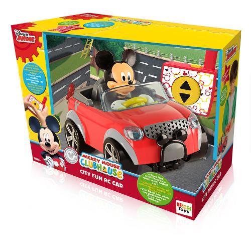 Voiture radio commandé Mickey Disney