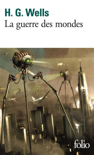 La guerre des mondes - 9782072749148 - 7,99 €