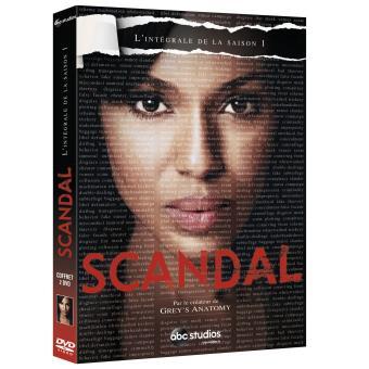 ScandalCoffret intégral de la Saison 1 DVD