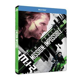 Mission : Impossible  Les FilmsMission : Impossible II Steelbook Blu-ray