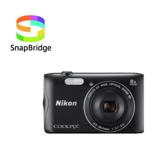 Compacte Nikon Coolpix A300 zwart