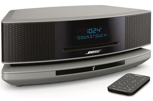 Micro Chaîne Bose Wave Music System IV + Socle SoundTouch Argent - Chaîne hi-fi. Achetez en ligne parmi un grand choix de produits high-tech. Remise permanente de 5% pour les adhérents.