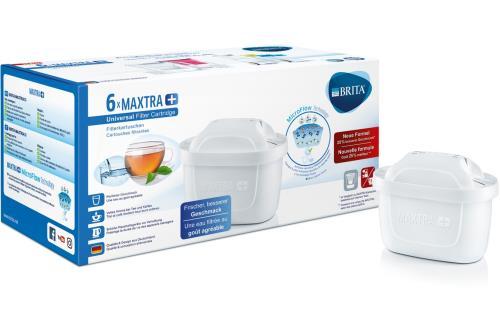 Pack de 6 Cartouche filtre à eau Brita Maxtra+