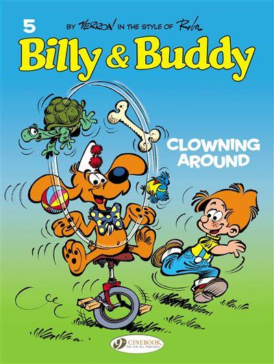 Billy & Buddy - tome 5 Clowning Around