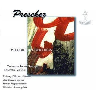 Dominique PRESCHEZ, né en 1954 Preschez-Melodies-et-concertos