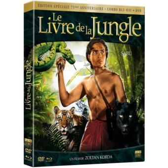 Le livre de la jungle Combo Blu-ray + DVD