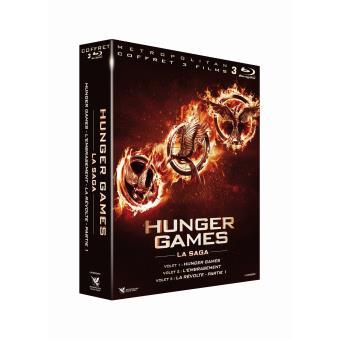 Hunger GamesHunger Games Coffret Films 1 à 3 Blu-ray