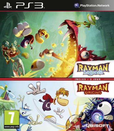 Rayman Legends + Rayman Origins PS3