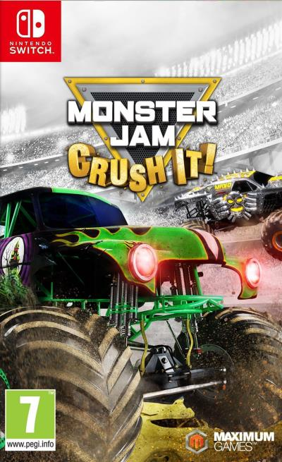 Monster Jam Crush It Nintendo Switch
