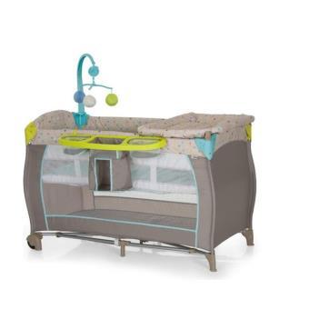 Lit parapluie accessoires hauck babycenter multi dots sand beige produits b b s fnac - Tour de lit pour lit parapluie ...