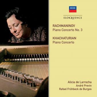 Rachmaninov : Piano Concerto number 3, Khachaturian : Piano Concerto