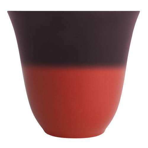 DEGRENNE Coffret mug 25 cl Illusions Rouge