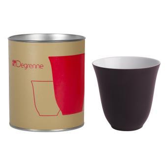 Coffret Guy Degrenne Illusions Rouge Baiser Mug 25 cl