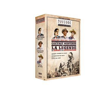 Coffret Légende de Custer et de Little Big Horn DVD