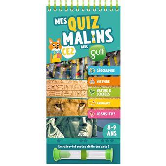 MES QUIZ MALINS - CE2 A CM1