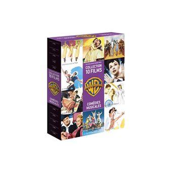 COFFRET 90 ANS WARNER COMEDIES MUSICALES - FR - 10 DVD