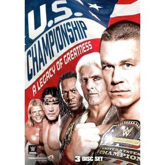 WWE U.S. Championship DVD