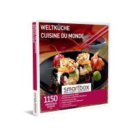 Coffret cadeau Smartbox Cuisine du Monde
