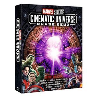 AvengersCoffret Marvel Studios Cinematic Universe Phase 2 Blu-ray