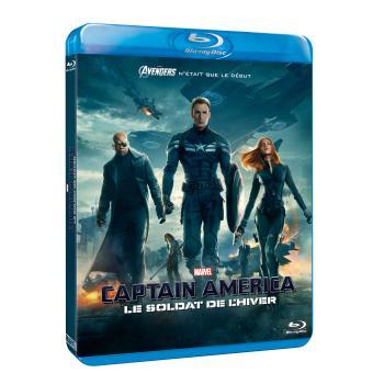 Captain AmericaCaptain America, le soldat de l'hiver Blu-Ray