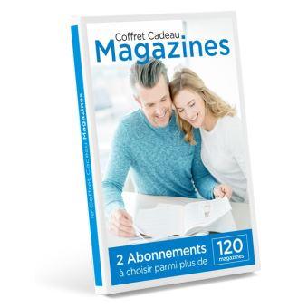 coffret cadeau magazines 2 abonnements choisir parmi plus de 120 magazines coffret cadeau. Black Bedroom Furniture Sets. Home Design Ideas