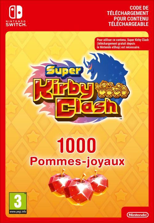 Code de téléchargement Super Kirby Clash : 1000 Pommes-joyaux Nintendo Switch