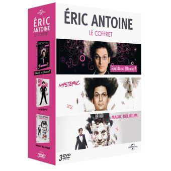 Coffret Eric Antoine Magic delirium DVD