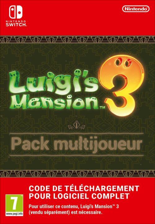 Code de téléchargement Nintendo Switch : Luigi's Mansion 3 Pack Multijoueur