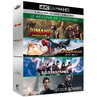 JumanjiCoffret Le Meilleur de l'aventure Blu-ray 4K Ultra HD