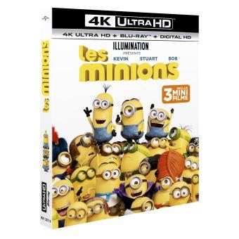 Les minionsLes Minions Blu-ray 4K Ultra HD