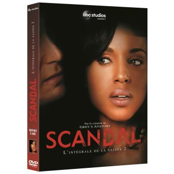ScandalCoffret intégral de la Saison 2 DVD