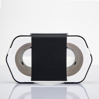 Casque de réalité virtuelle Cardboard Plastic VR Noir