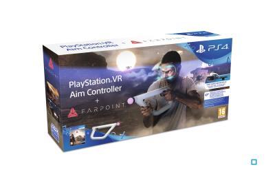 Farpoint PS4 VR + manette de visée Playstation VR