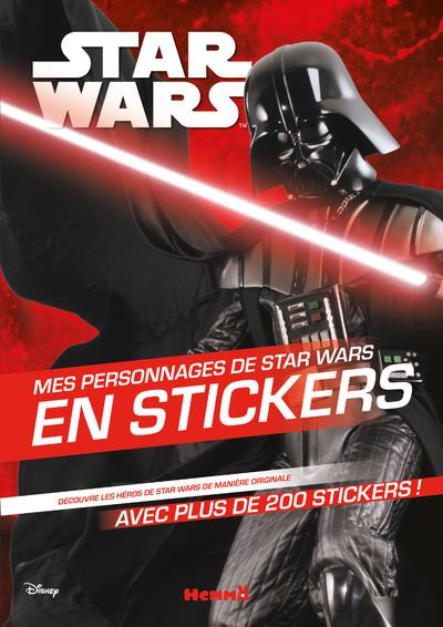 Star Wars - Tome 1 : Mes personnages de Star Wars en stickers