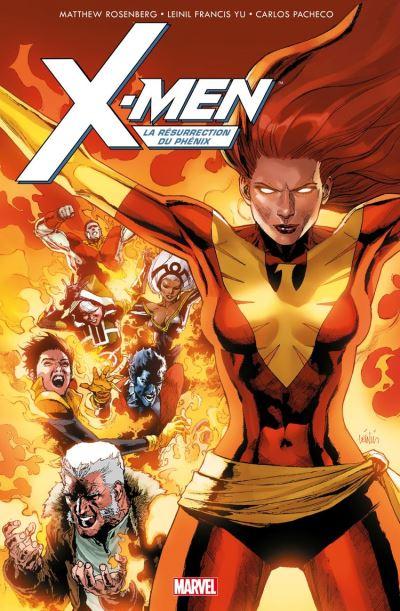 X-Men - La résurrection du Phénix - 9782809482508 - 12,99 €