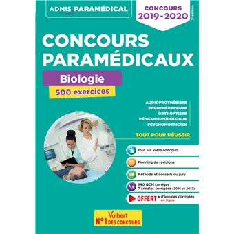 Concours Orthoptiste Annales
