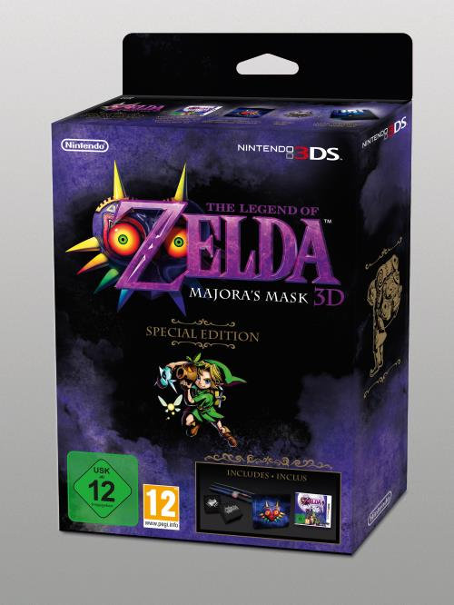 The Legend of Zelda Majora's Mask Edition Collector 3DS - Nintendo 3DS
