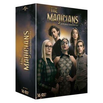 The magiciansCoffret The Magicians Saisons 1 à 4 DVD