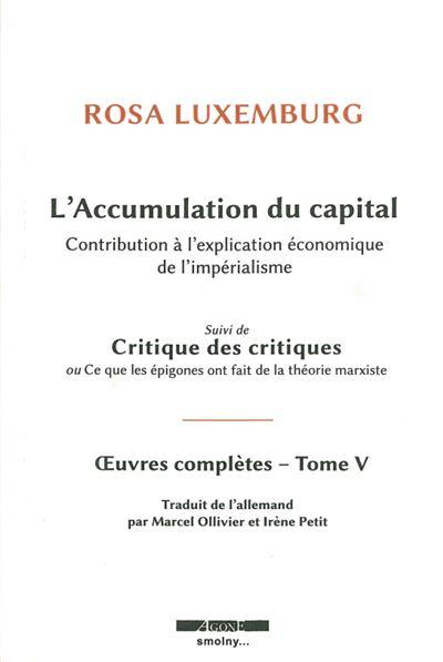 L' Accumulation du capital