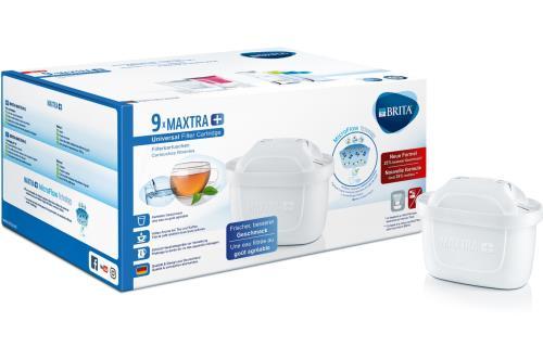 Pack de 9 Cartouche filtre à eau Brita Maxtra+