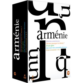Coffret Arménie 4 Films DVD