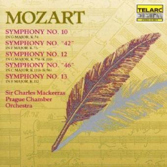 Symphonies No.10-13, 42