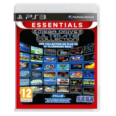 Sega Megadrive Ultimate Collection Essentials VF PS3