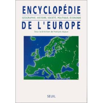 ENCYCLOPEDIE DE L'EUROPE GEOGRAPHIE