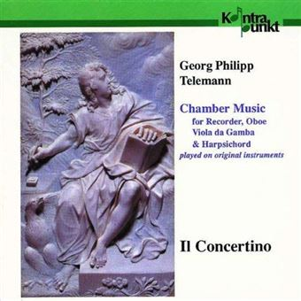 Chamber Music For Recorder, Oboe, Viola Da Gamba & Harpsichord